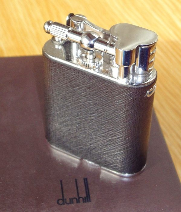 Alfred Dunhill - Gas Lighter - Unique Turbo Sidecar Jacket QLV2614