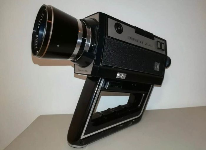 Bell & Howell Vintage Revue S8 Delux Film Movie Camera Foto Quelle 1970's