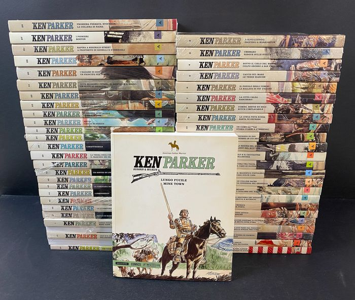 Ken Parker nn. 1/50 - Collezione completa - Softcover - First edition - (2014)