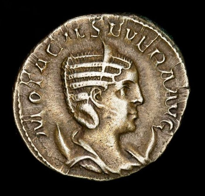 Römisches Reich - Antoninianus - Otacilia Severa (244-249 A.D) Rome - IVNO CONSERVAT, Juno standing left with patera and sceptre.  - Silber