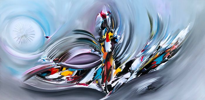 Gena - Abstract Blue