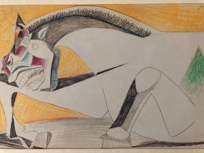 Pablo Picasso (after) - Study for Guernica