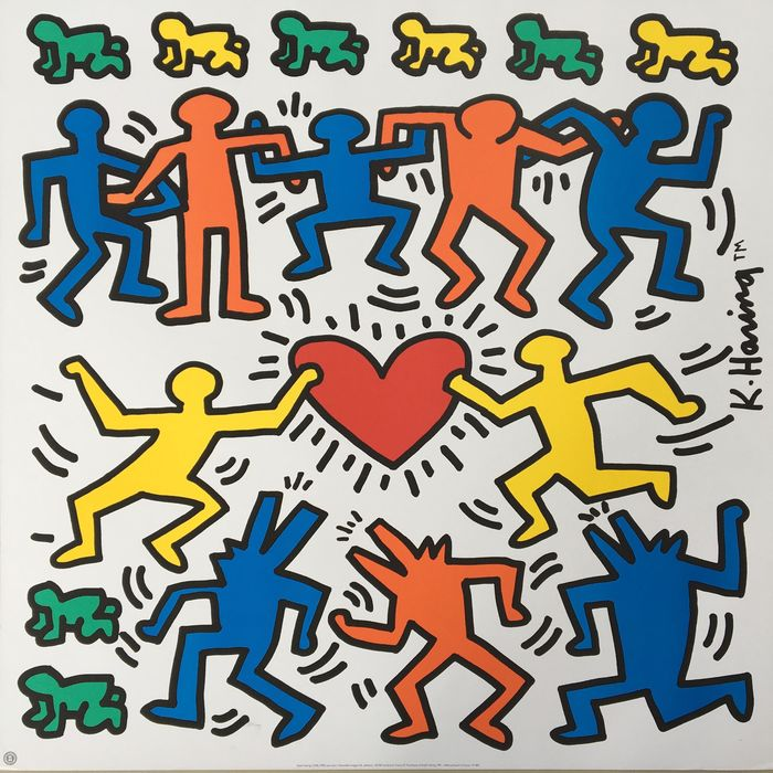Keith Haring (after)  - Sans titre