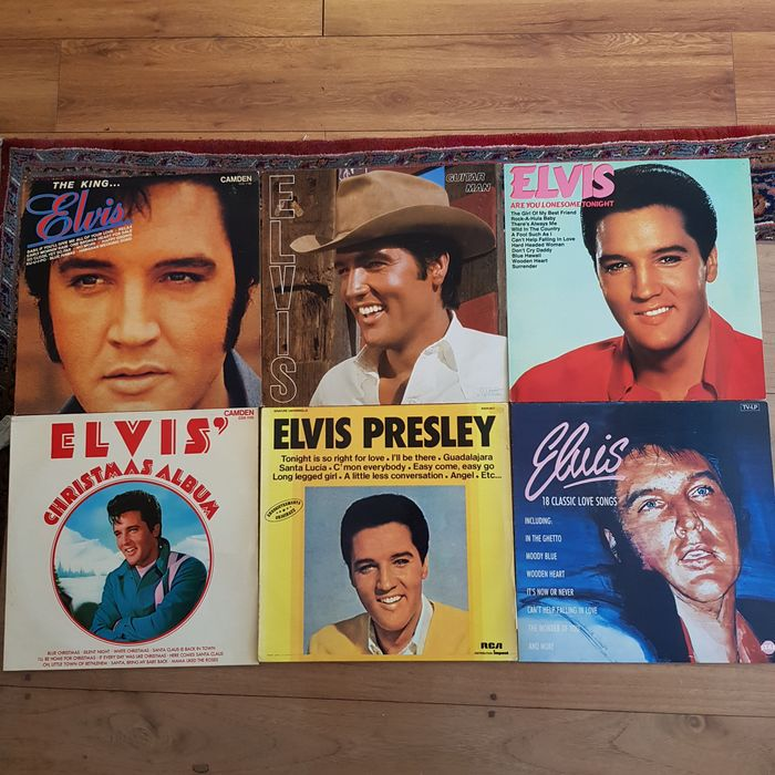Elvis Presley - Multiple titles - Deluxe edition, Limited edition, LP's - 1970/1985