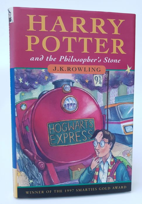 J.K. Rowling - Harry Potter and the Philosophers Stone  - 1998