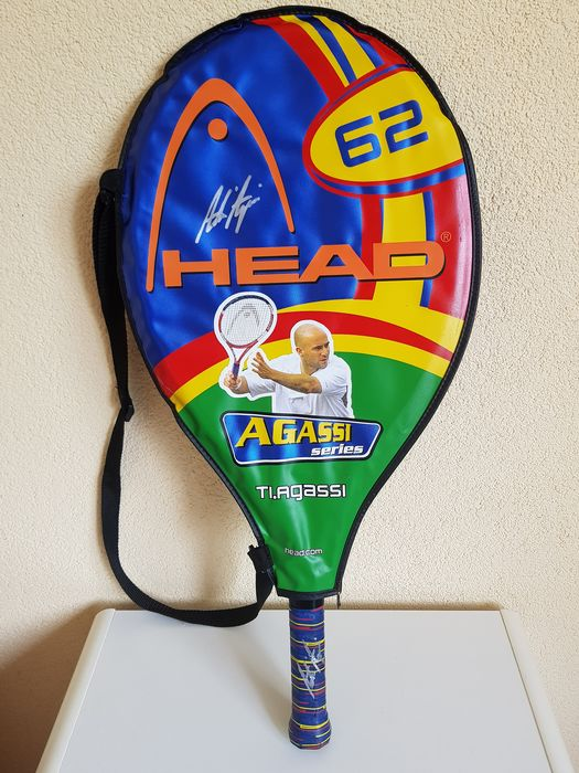 Tennis - Andre Agassi - Tennis racket