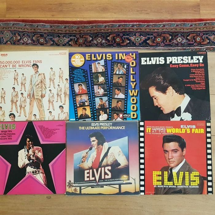 Elvis Presley - Multiple titles - Deluxe edition, Limited edition, LP's - 1972/1981