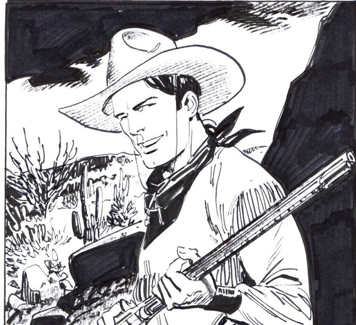 "Tex Willer n. 6 - Tavola Originale ""Coyoteros!"" - Loose page - First edition - (2019)"