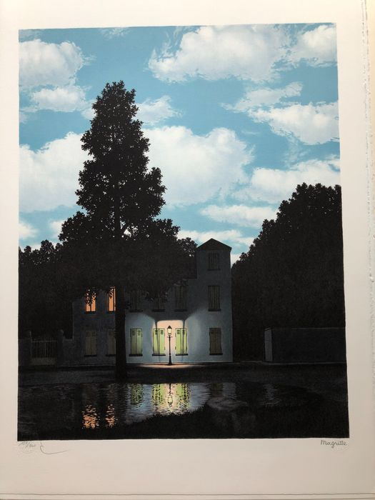 Rene Magritte (after) - The Empire of Light