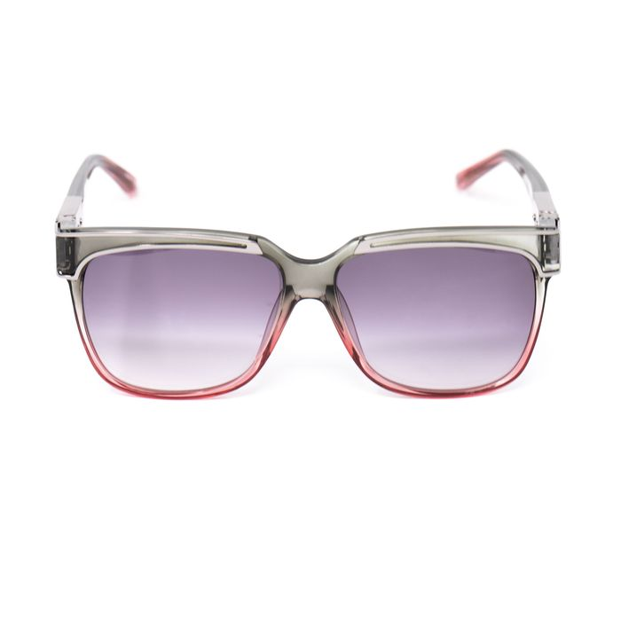 "Yohji Yamamoto - Rectangular Grey/Pink and Purple Lenses Category 3 - YY16THORNC4SUN""NO RESERVE PRICE"" Sunglasses"