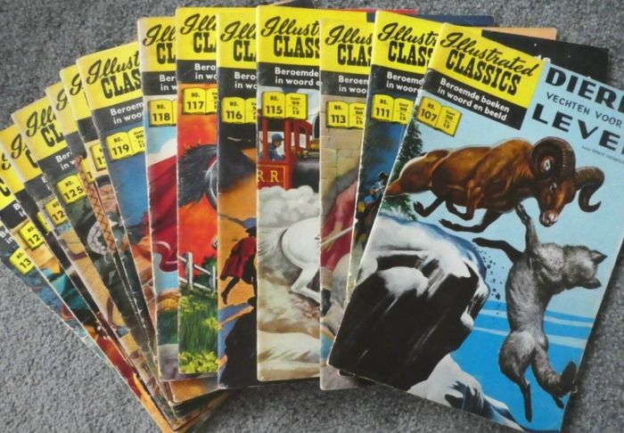 illustrated classics - Diverse titels - Softcover - Eerste druk - (1960/1965)
