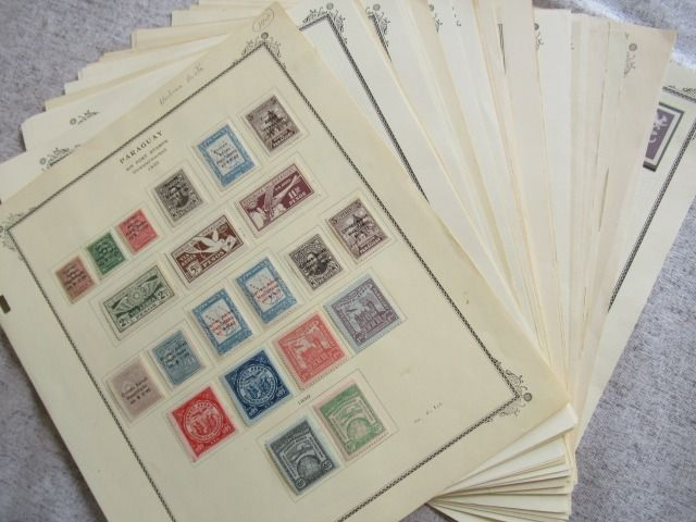 Paraguay 1929/1975 - Almost complete collection of stamps, including varieties.