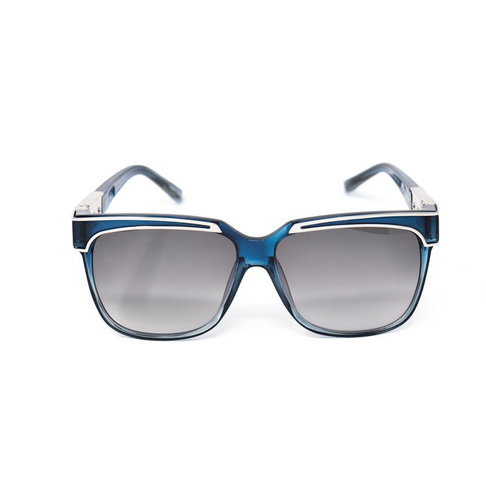 "Yohji Yamamoto - Rectangular Blue and Grey Lenses - YY16THORNC3SUN""NO RESERVE PRICE"" Sunglasses"