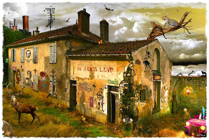 """Krief Yves - """"Cent Titres"""" n°82 - No Man's Land"""