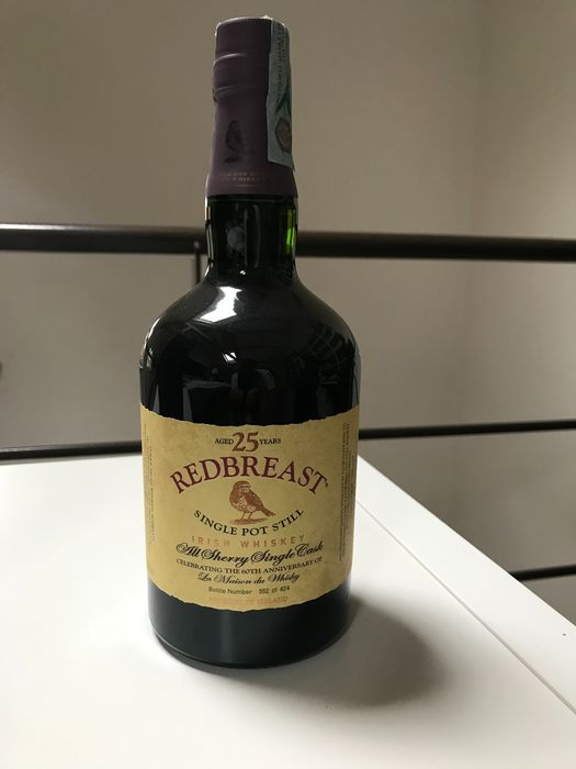 "Redbreast 1991 25 years old Single Pot Still Irish Whiskey - LMDW ""60th Anniversary"" - One of 624 bottles - Original bottling - 700ml"