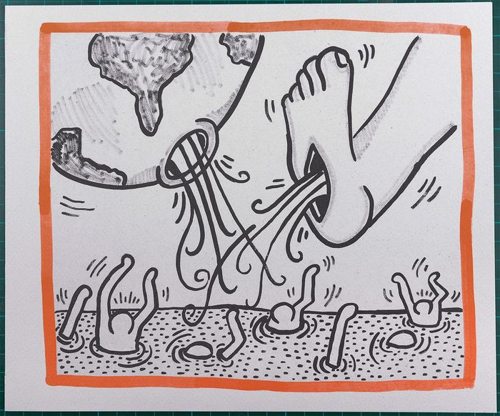 Keith Haring - Untitled, 1990