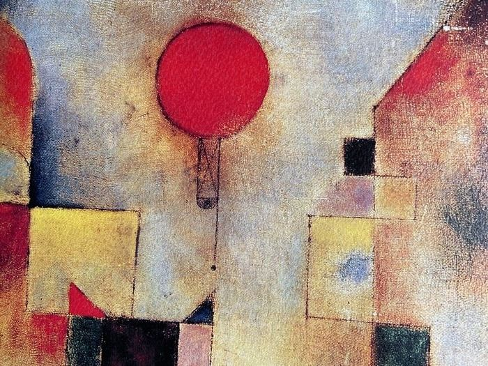 Paul Klee (after) - Rote Ballon