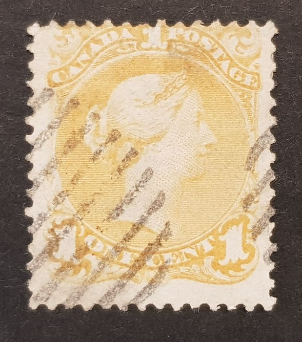 Canada 1868 - laid paper - Yvert 18a