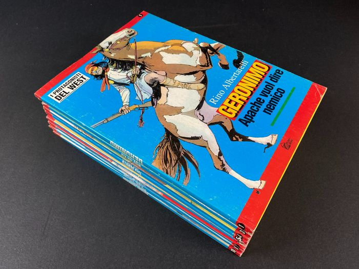 I protagonisti del West nn. 1/10 - serie completa - Softcover - First edition - (1994)