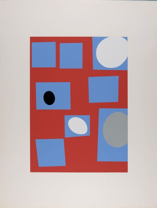 Jean (Hans) Arp - Constellation - collage 1922