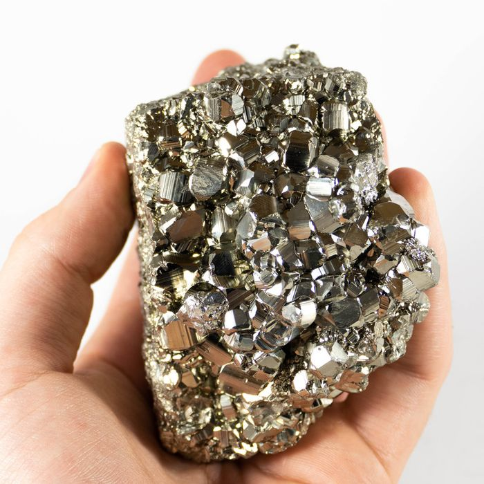 Pyrite Crystal cluster - 100×100×50 mm - 888 g