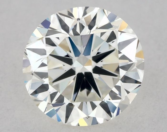 Diamante - 0.50 ct - Brillante - H - IF (Inmaculado), GD/VG/VG | IGI