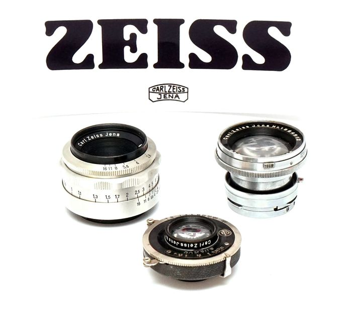 Zeiss aus Jena Lenzenset (camera not included)