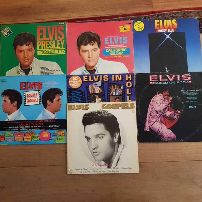 Elvis Presley - Multiple titles - Deluxe edition, Limited edition, LP's - 1973/1982