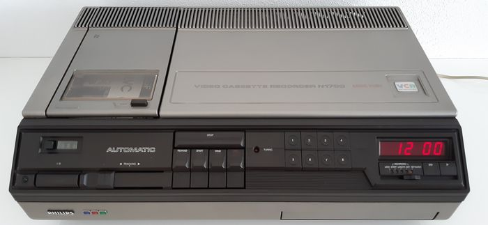 Philips  N1700 - Videocassette Recorder (VCR)