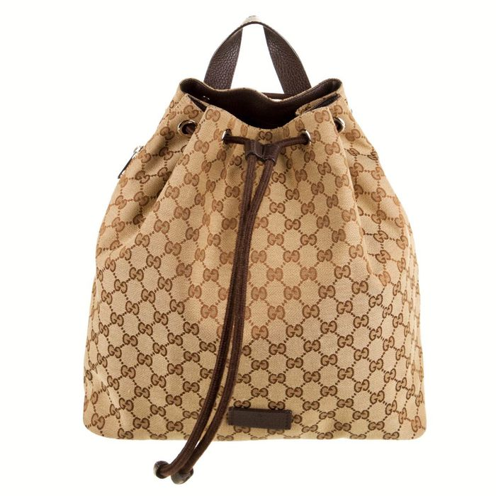 Gucci - GG Canvas Travel Backpack Backpack