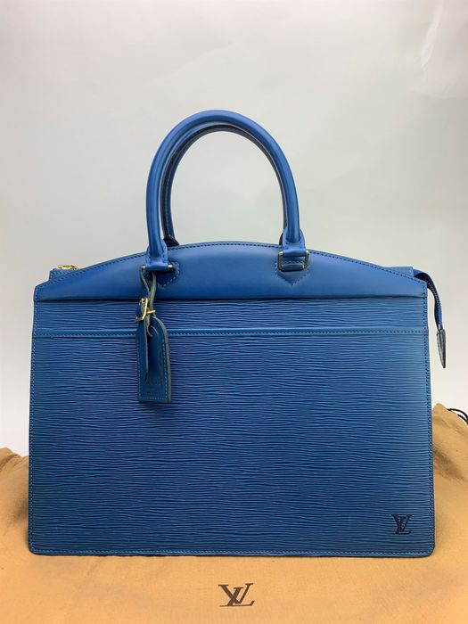 Louis Vuitton - Blue Epi Riviera  手提包/商務包