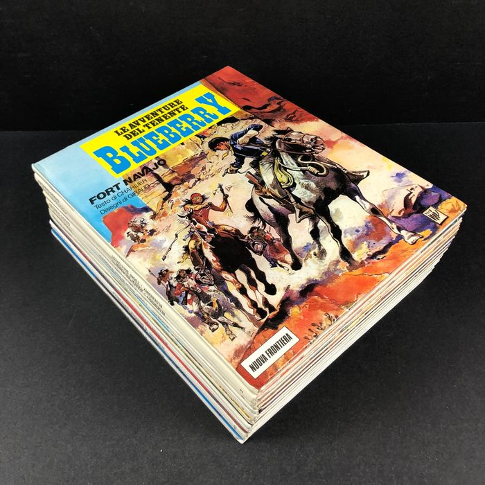 Giraud, Charlier - Le avventure del Tenente Blueberry nn 1/12 - Hardcover - First edition - (1990)