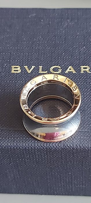 Bvlgari - 18 kt. Gold, Steel - Ring