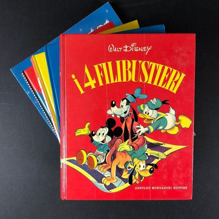 Walt Disney - 6x volumi. Paperino, Topolino e Company - Hardcover - Different editions - (1962/1989)