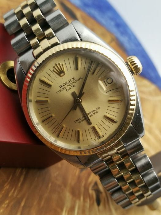 Rolex - Oyster Perpetual Date - 6827 - Unisex - 1970-1979