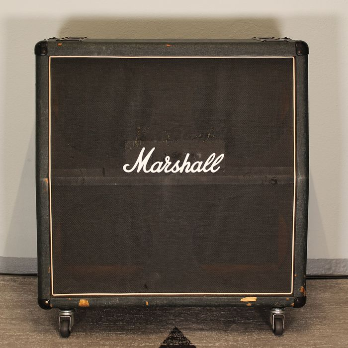 Marshall - 1960A LEAD 4x12 - Guitar speaker cabinet - UK - 1974