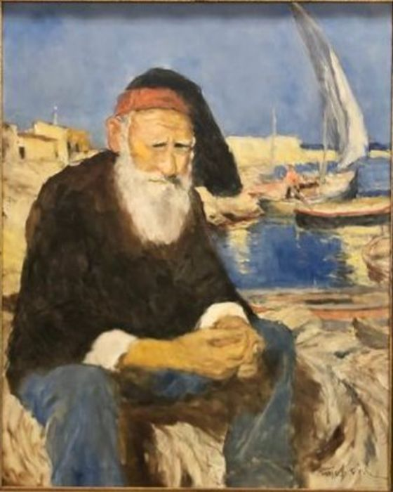 Fried Pal - Fisherman in the harbour
