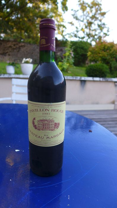 1993 Pavillon Rouge du Chateau Margaux, 2nd wine of Château Margaux - Margaux - 1 Normalflasche (0,75 Liter)
