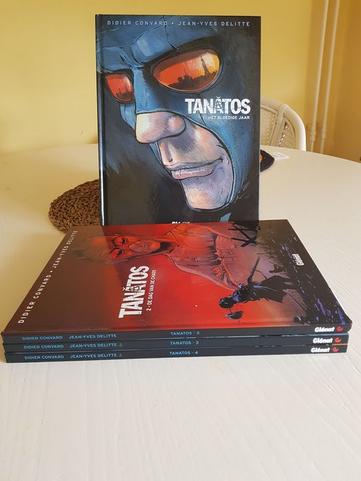 Tanatos 1 t/m 4 - Complete Reeks - Hardcover - First edition - (2007/2011)