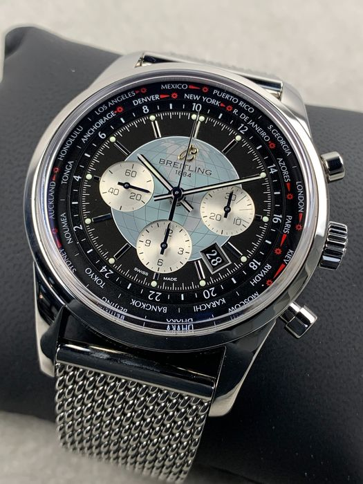 Breitling - Transocean Unitime Chronograph Automatic - AB0510 - Homme - 2011-aujourd'hui