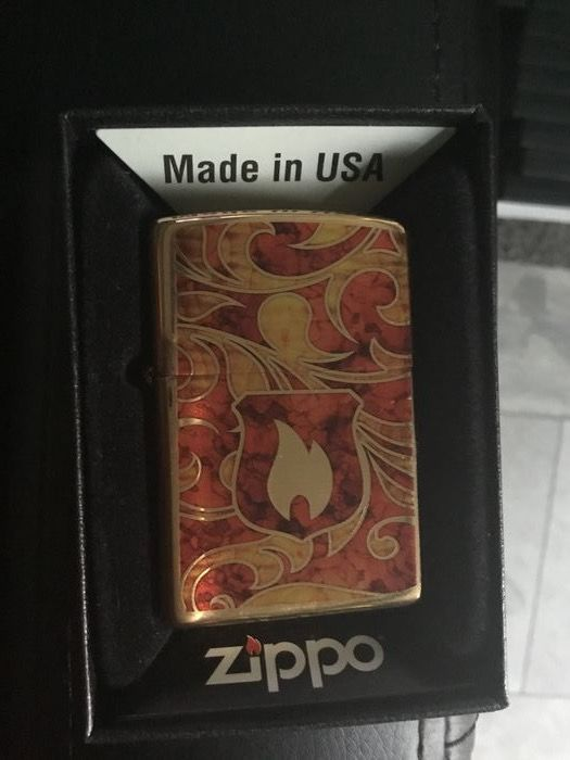 Zippo - Lighter - Zippo Shield Brass of 1