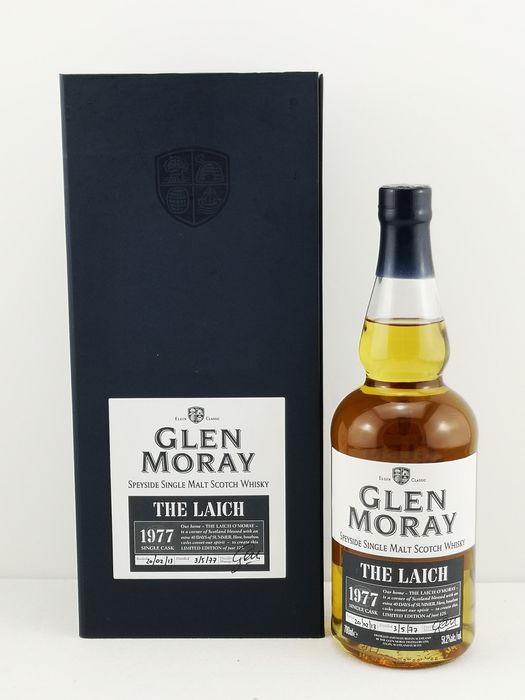 Glen Moray 1977 35 years old The Laich - One of 125 - Original bottling - b. 2013 - 70cl