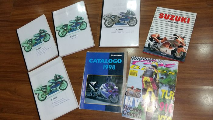 Livres - TL 1000 R technical books and brochures - Suzuki - 1990-2000