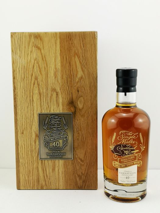 Tamnavulin 40 years old Director's Special - The Single Malts of Scotalnd - 70cl