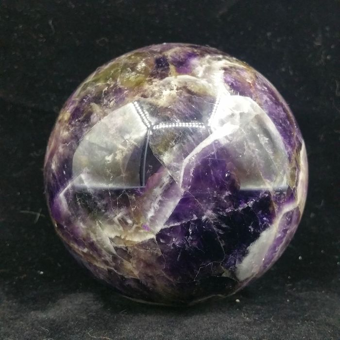 Dreamy Amethyst Sphere - 85×85×85 mm - 910 g