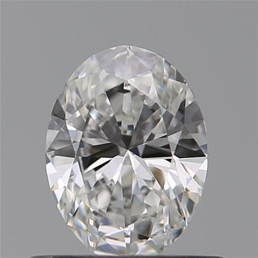 1 pcs Diamant - 0.31 ct - Oval - F - VVS2