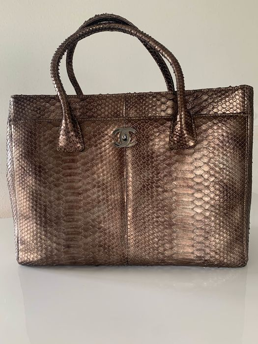 Chanel - Executive Python  Handbag