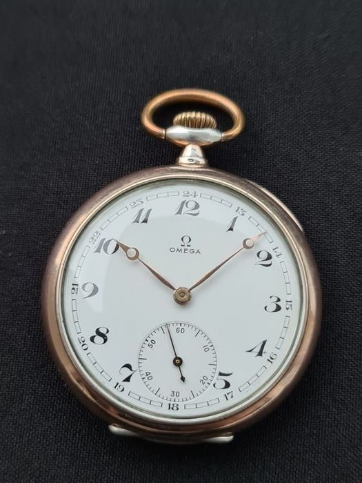 Omega - Pocket watch - Silver - cal.19 LB - NO RESERVE PRICE - Mężczyzna - 1850-1900