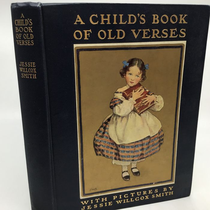Jessie Willcox Smith (ill) - A Child's Book of Old Verses - 1910