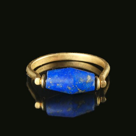 Ancient Egyptian Lapis Lazuli Ring - (1)